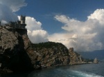 Swallow's Nest in Yalta—one of Ukraine's most famous icons